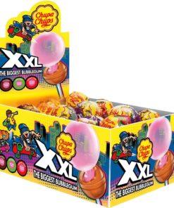 Chupa XXL Lolly 3in1 Tutti, Coa, Apple, Strawberry 39gr