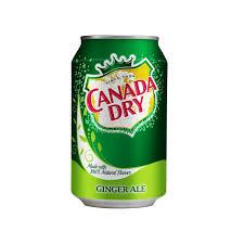 Canada Dry Ginger Ale blik 0,355 l.