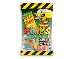 Toxic Waste Sour Worms 142gr