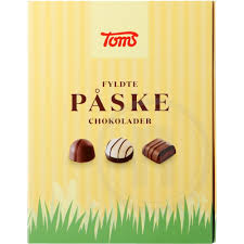 Toms Filled Easter Chocolates 124g