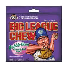 Big League Chew Bubble Gum Ground Ball Grape 60gr
