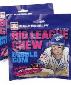 Big League Chew Bubble Gum Big Rally Blue Raspberry 60gr
