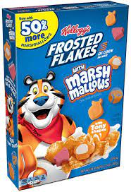Kellogg's Frosted Flakes with Marshmallows 340gr