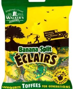 Walker Banana Split Eclairs 150g