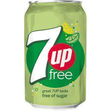 7 Up Sugar Free 0,33l