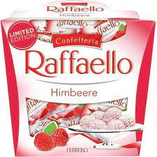 Ferrero Raffaello Himbeere Bringebær 150g