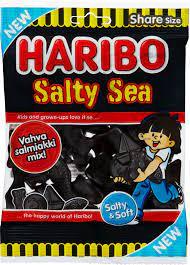 Haribo Salty Sea 170g