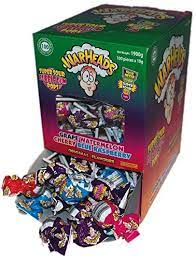 Warheads Supersour Bubblegum Pops 19g