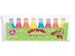 Cry Baby Wax Liquid Filled Bottles 8 Pack