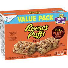 Reese's Puffs Treats 16 bars 385g
