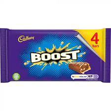 Cadbury Boost 4Pack 136g