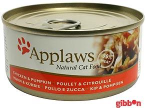 Applaws katt Kyllingbryst og Gresskar 156g