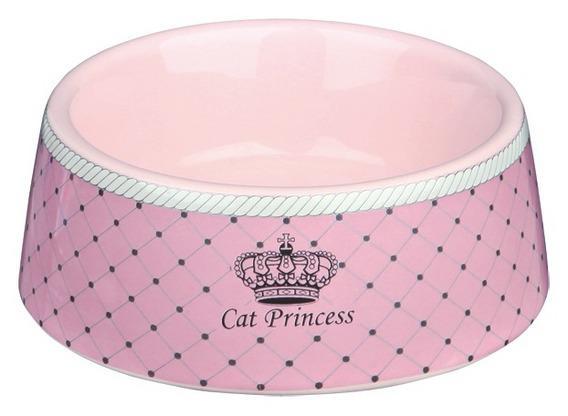 Katteskål 24780 I Keramikk Cat Princess Rosa 0,18L
