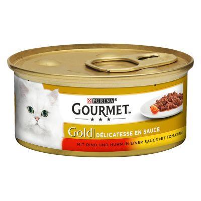 GOURMET GOLD Oksekjøtt i tomatsaus