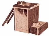 Gnagerhus 62002 Gravetårn i Furu 25,5x20x24,5cm