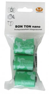 United Pets Bon Ton Nano refill Grønn 3x10 stk