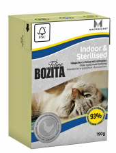 Bozita Feline Indoor & Sterilised190g
