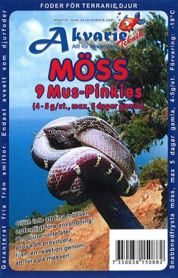 FRYSTE MUS PINKIES (CA 4-5G) 9ST