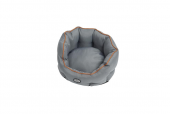 BUSTER Cocoonseng 75cm, Steel Grey/Leather Brown piping