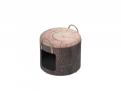 Kattehule/Boks 434-432266 Pet Box Wood S Ø30x26cm