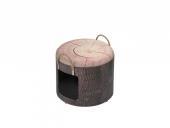 Kattehule/Boks 434-432273 Pet Box Wood M Ø35x34cm