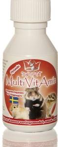 Multivitamin for smågnagere 50ml