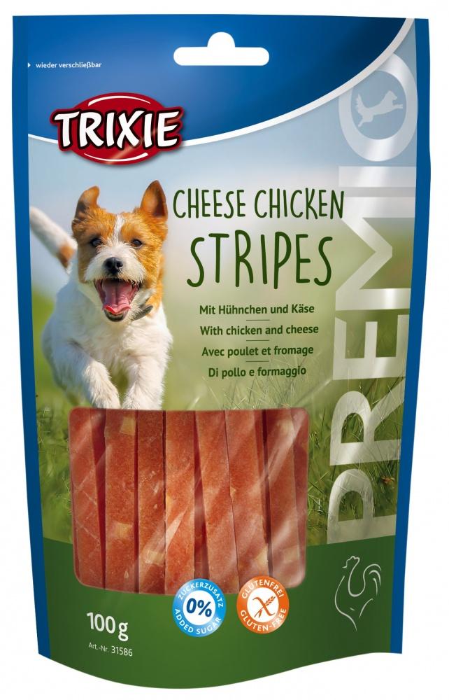 Chicken Cheese Stripes 100g
