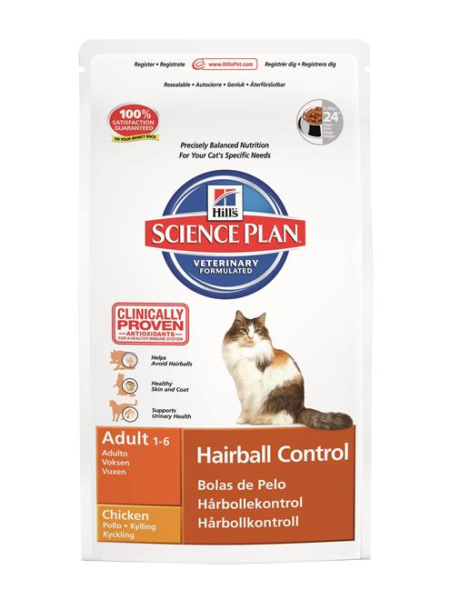 Feline Adult Hairball Indoor Chicken 7kg
