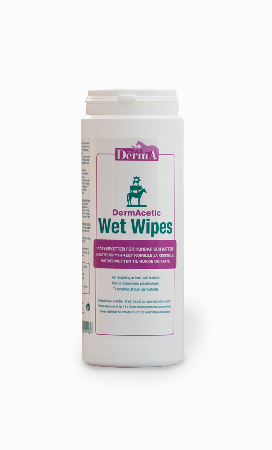 DermAcetic Wet Wipes 50stk