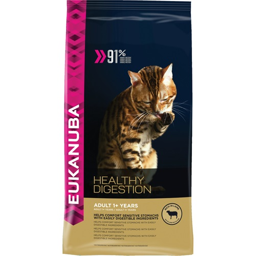 Euk Cat Adult Healthy Digestion 4Kg