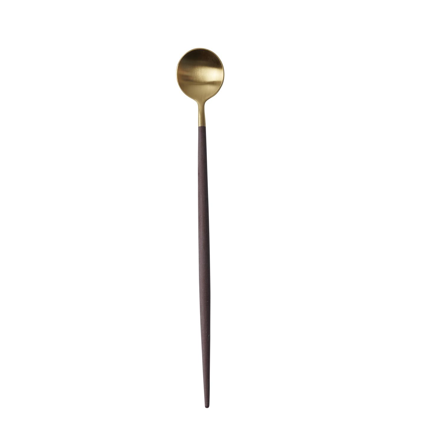 GOA BROWN GOLD LONG DRINK SPOON