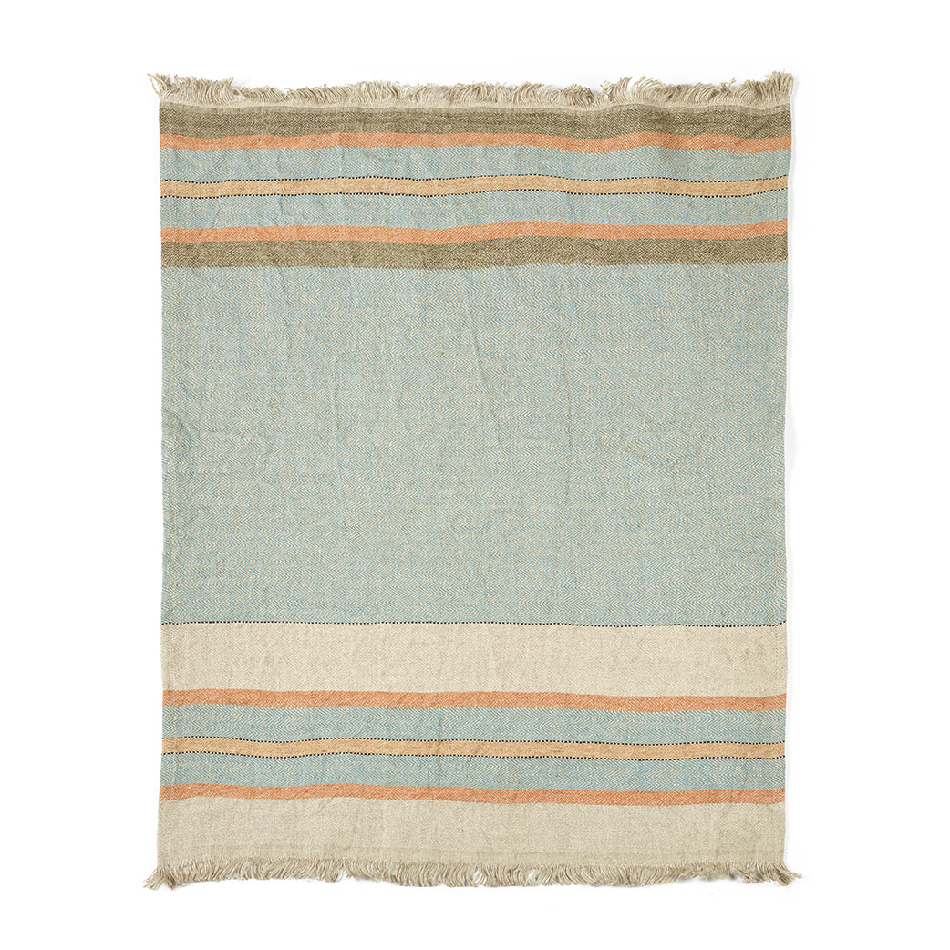The Belgian towel, Fouta, Multi Stripe