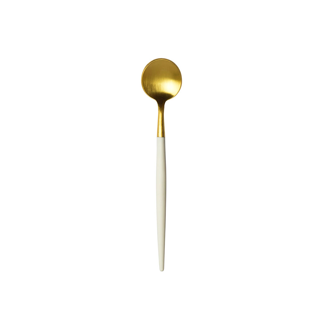 GOA WHITE GOLD MOKA SPOON