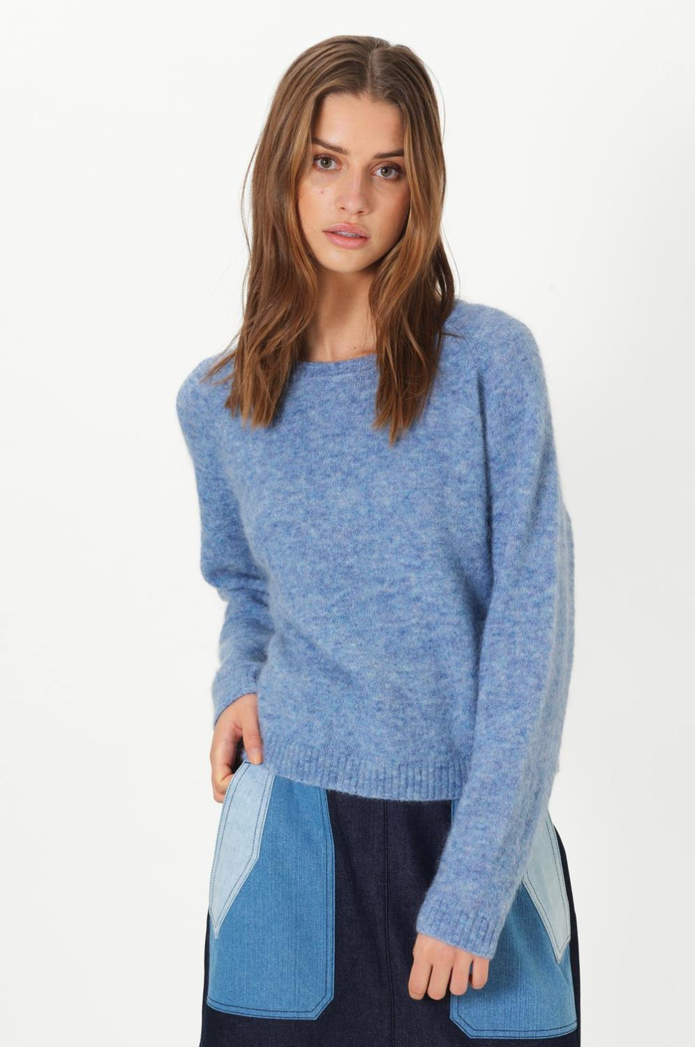 BROOK KNIT LOOSE O-NECK - SECOND FEMALE