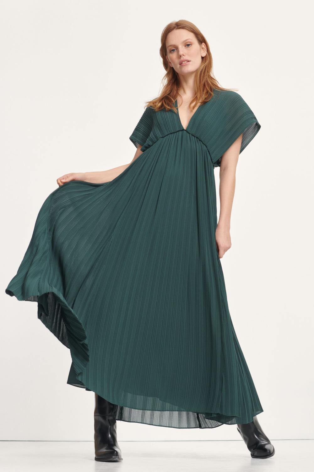 QUARTZ LONG DRESS - SAMSØE