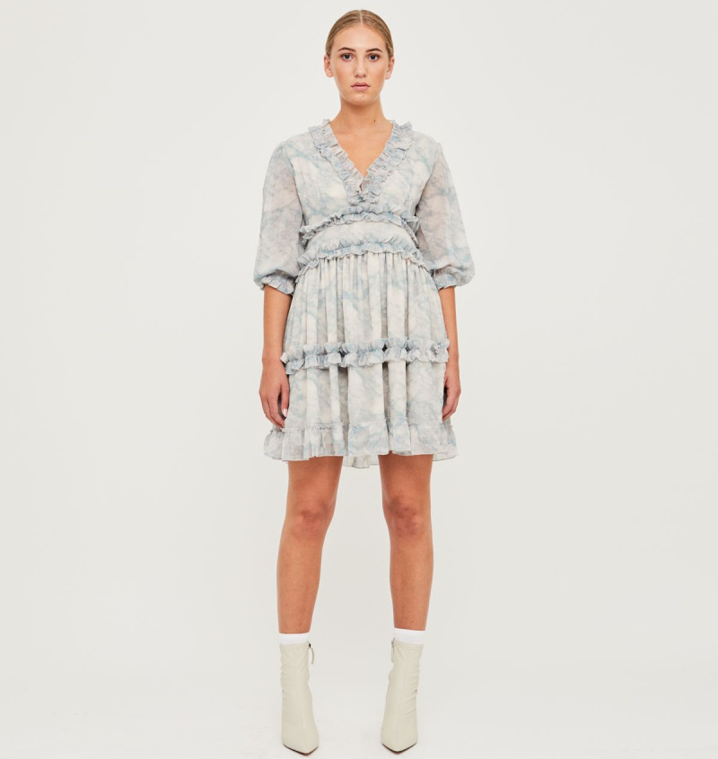 JENNY DRESS MARBLE - UNTOLD STORIES