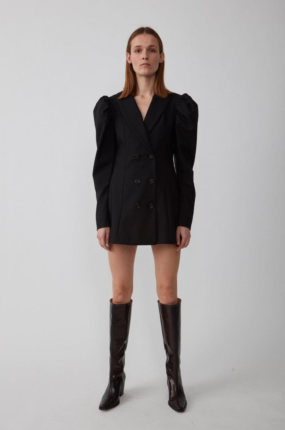 ELSI BLAZER DRESS - JUST FEMALE
