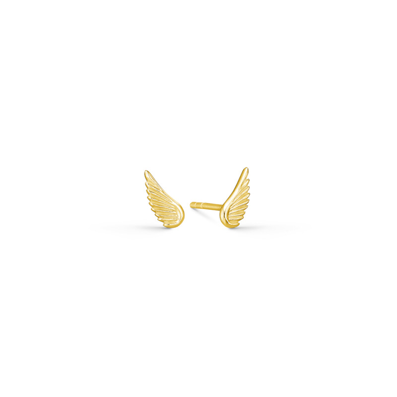 DOVE EARSTUDS GOLD - IDFINE