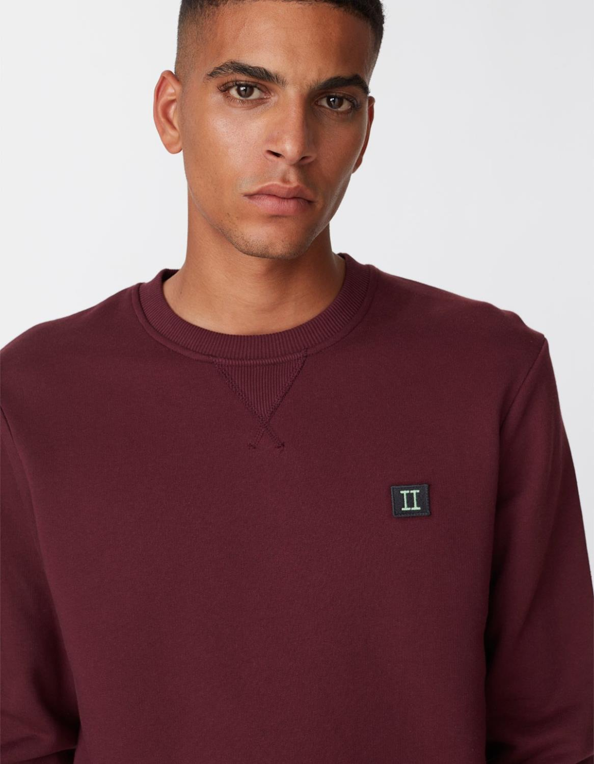 PIECE SWEAT BURGUNDY - LES DEUX