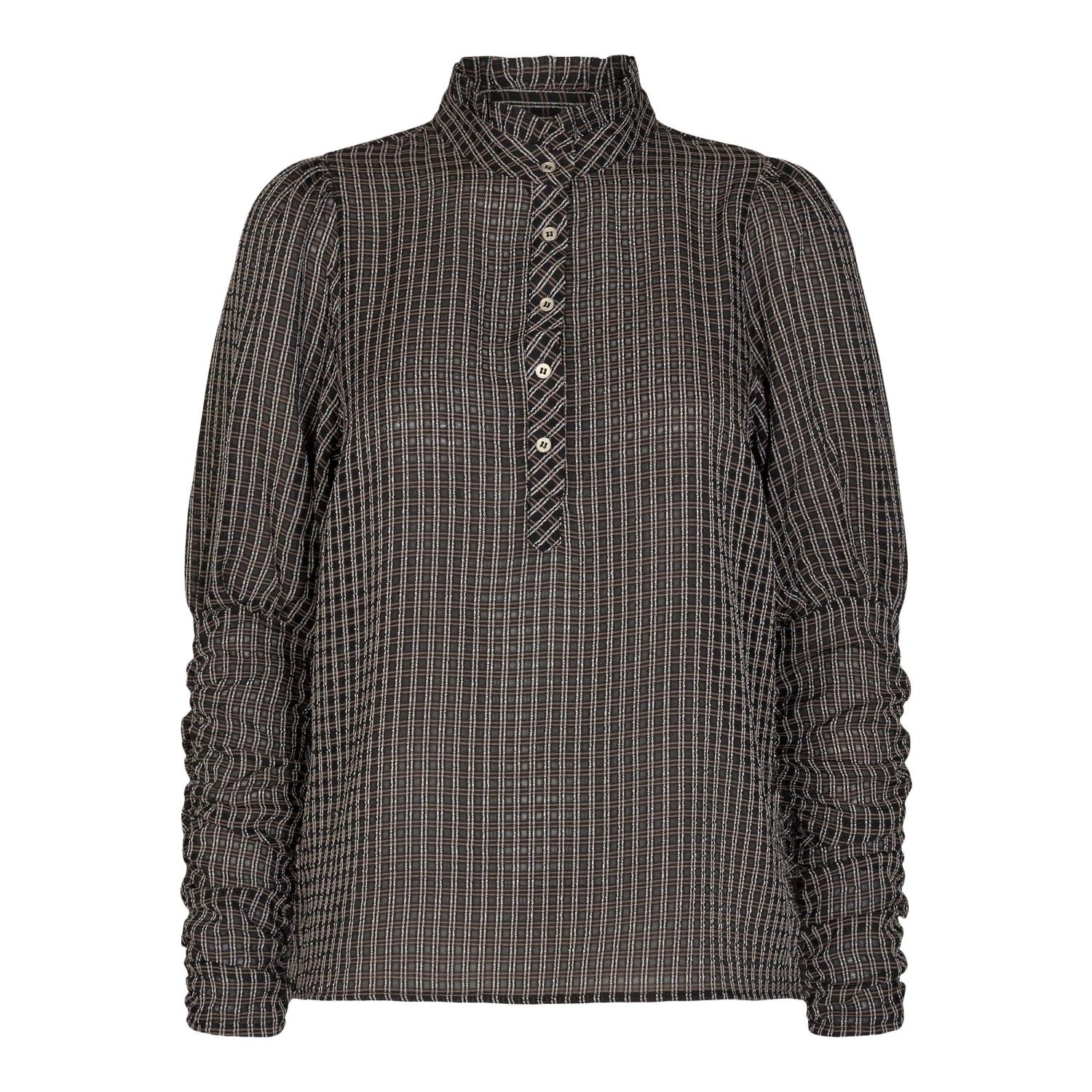 CLEAR CHECK SHIRT - COCOUTURE