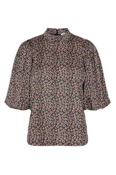 FOX FLOWER BLOUSE - COCOUTURE