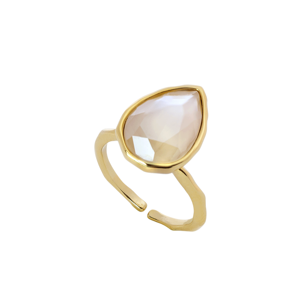 EVE RAINDROP RING - LILY AND ROSE