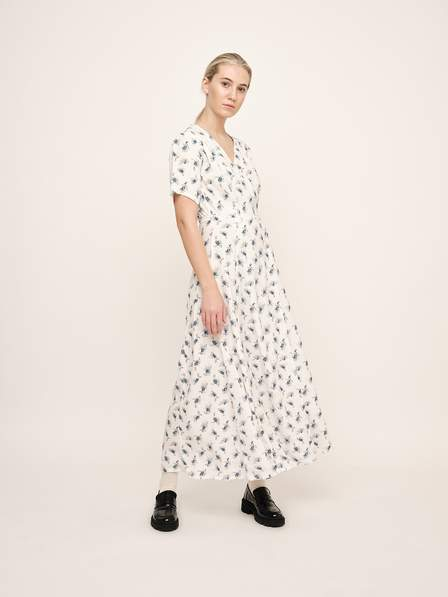 AGNETE WRAP DRESS - UNTOLD STORIES
