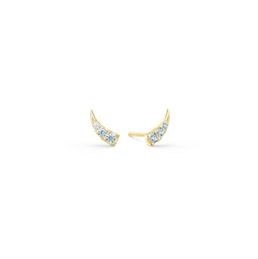 GLACE EARSTUDS GOLD - IDFINE(2)