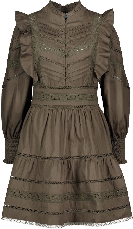 ANDREA DRESS OLIVE - UP