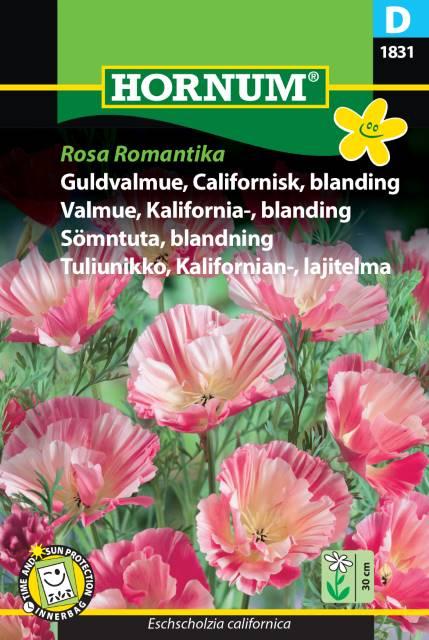 P.FRØ GULLVALMUE BL. ROSA (D)