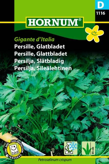 P.FRØ GLATTBLADET PERSILLE GIGANTE D'ITALIA