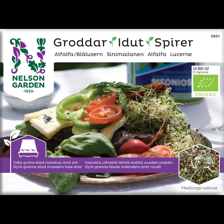 Spirer, Alfalfa, Organic