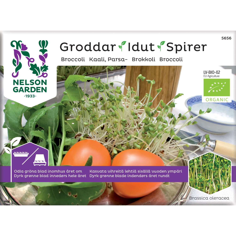 Spirer, Brokkoli, Organic