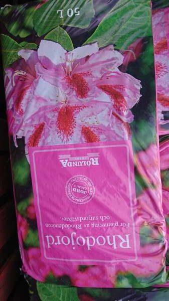 Rhododendron jord 50 liter